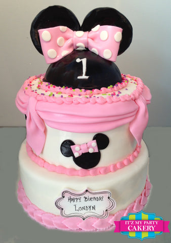 Minnie Mouse Princess Cake