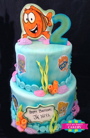 Bubble Guppies Cake Milwaukee