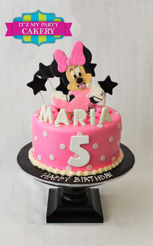 Minnie Mouse Surprise Cake Milwaukee