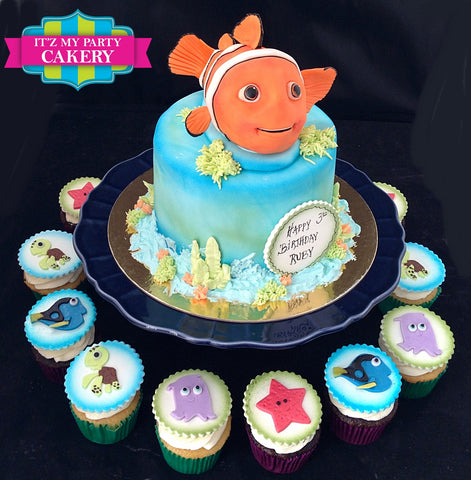 Finding Nemo Cake Milwaukee