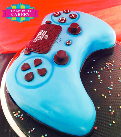 Play Station Controller Cake Milwaukee