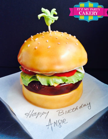Cheeseburger Cake Milwaukee