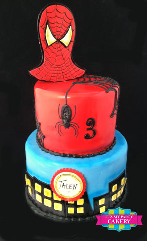 Spiderman Cake Milwaukee