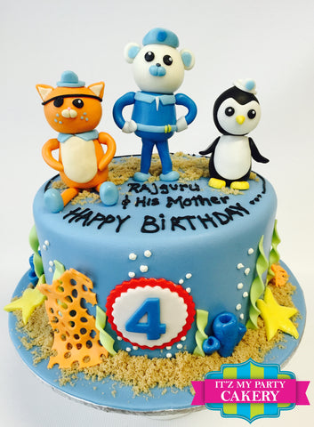 Octonauts Cake Milwaukee
