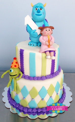 Monsters Inc Cake Milwaukee