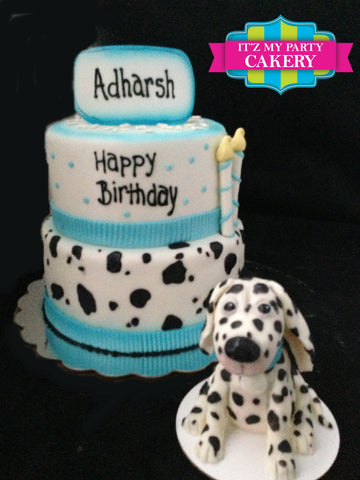 Dalmatian Cake Milwaukee