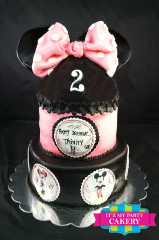 Minnie Mouse Cake Milwaukee