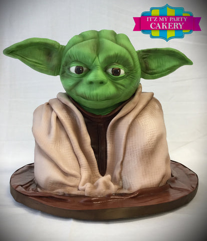 Yoda Star Wars Cake Milwaukee