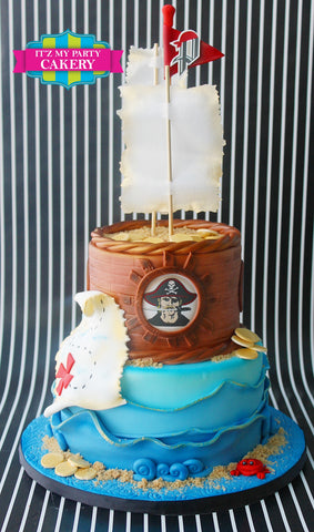 Pirate Cake Milwaukee
