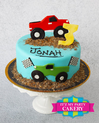 Monster Cars Cake