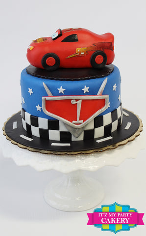 Cars Cake Milwaukee