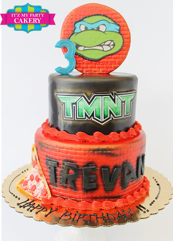TMNT Teenage Mutant Ninja Turtle Cake Milwaukee