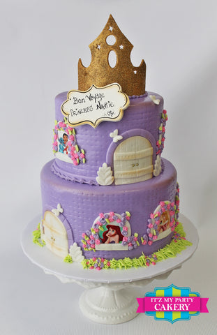 Princess Castle Cake Milwaukee