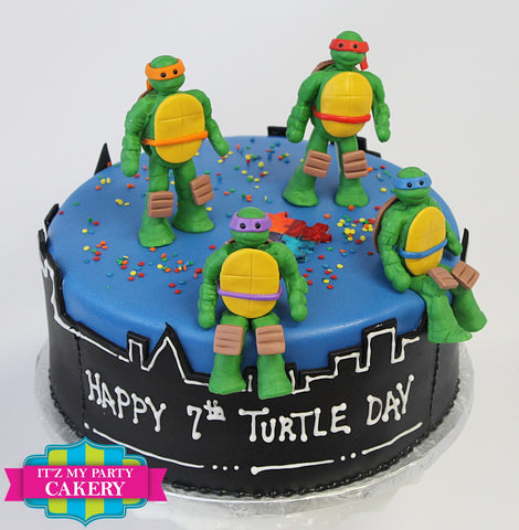 Teenage Mutant Ninja Turtles TMNT Cake Milwaukee