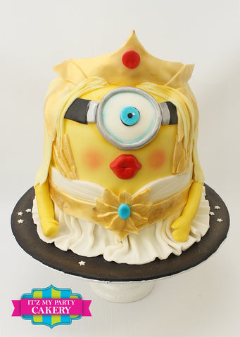 She-ra Princess Warrior Minion Cake Milwaukee