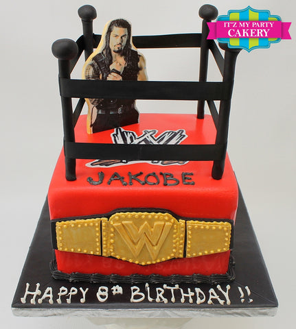 Wrestling Cake Milwaukee