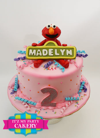 Elmo Cake Milwaukee