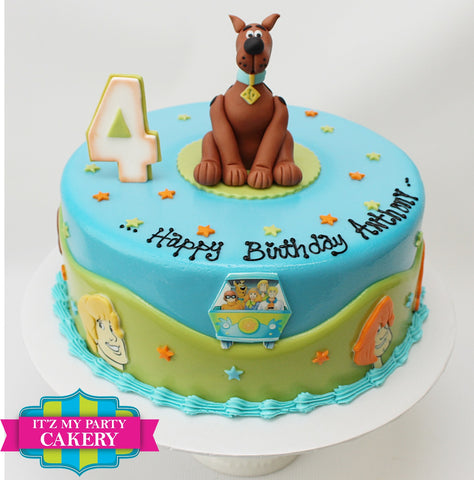 Scooby Doo and Gang Cake Milwaukee