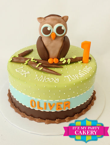 Owl Cake Milwaukee