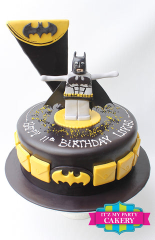 Batman Lego Cake Milwaukee