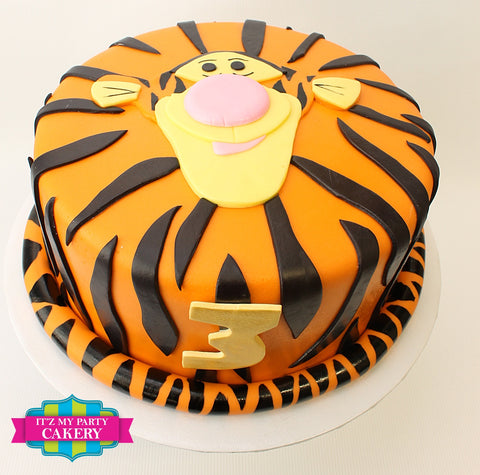 Tigger Birthday Cake Milwaukee