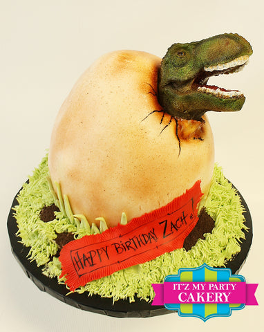 Jurassic World Dinosaur Cake Milwaukee