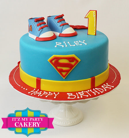 Baby Superman Cake Milwaukee
