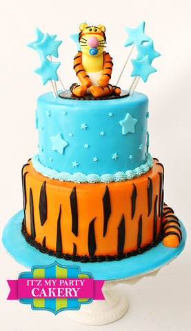 Tigger Cake Milwaukee