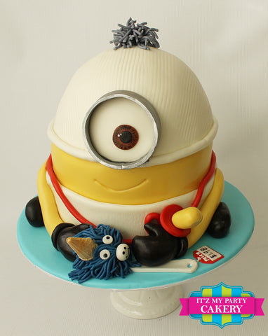 Baby Minion Cake Milwaukee