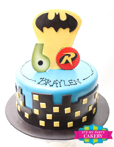 Batman Superhero Cake Milwaukee
