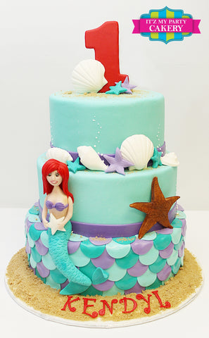 Mermaid Cake Milwaukee