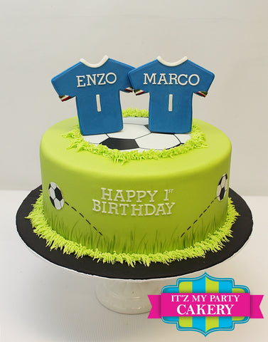 Soccer Cake Milwaukee