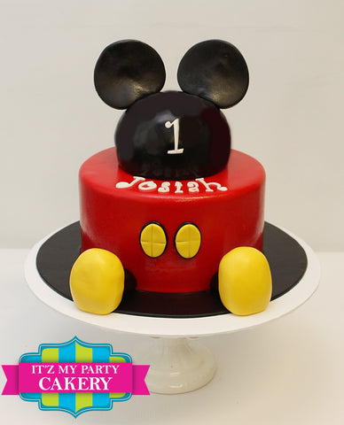 Mickey Mouse Cake Milwaukee