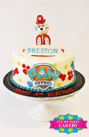 Paw Patrol Cake Milwaukee