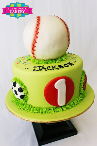 Baseball Cakes, Sports Cakes, Boys Birthday Cakes