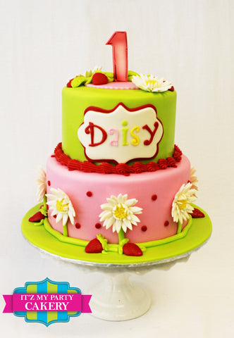 Strawberry Shortcake Birthday Cake, Strawberry, Shortcake, Kids Birthday Cakes, Girl Cakes