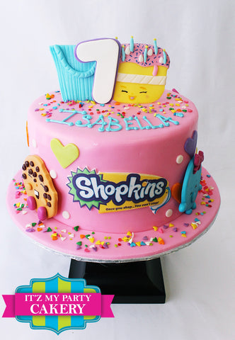 Shopkins Cakes, Shopkin Cakes Milwaukee