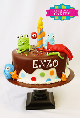 Monsters, Cute Monsters, First Birthday