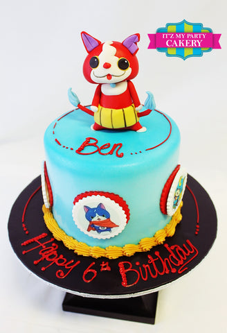 Yo Kai Watch, Yo Kai, Birthday Cakes, Cat, Super power