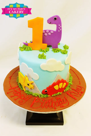 Dinosaurs, First Birthday Cakes, Boys Cakes, Dino