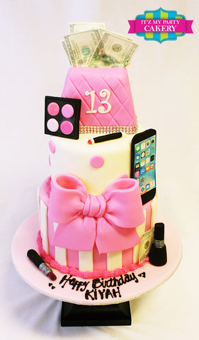 Sweet 13, Pink, make-up, Girly,