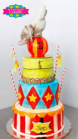 Circus Elephant Cake Milwaukee