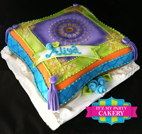 Moroccan Pillow Cake Milwaukee