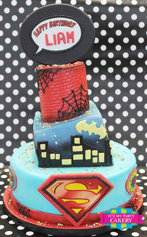 Super hero Cake Milwaukee