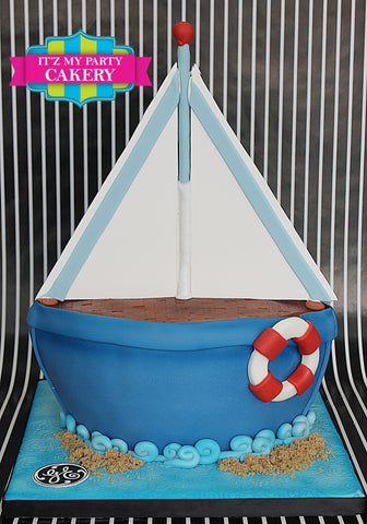Sail Boat Cake Milwaukee