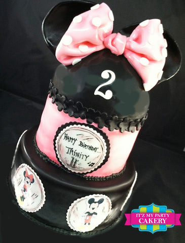 Minnie Mouse & Friends Cake Milwaukee