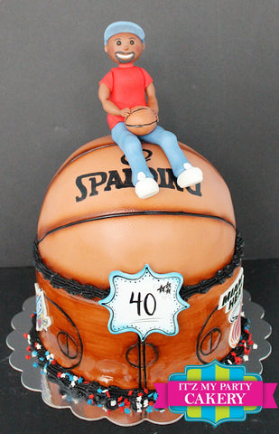 Basketball Player Cake Milwaukee