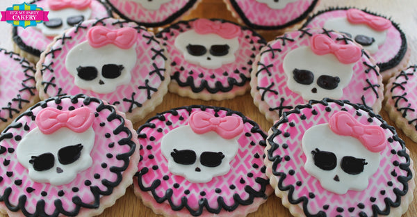 Monster High Cookies - It'z My Party Cakery - 3