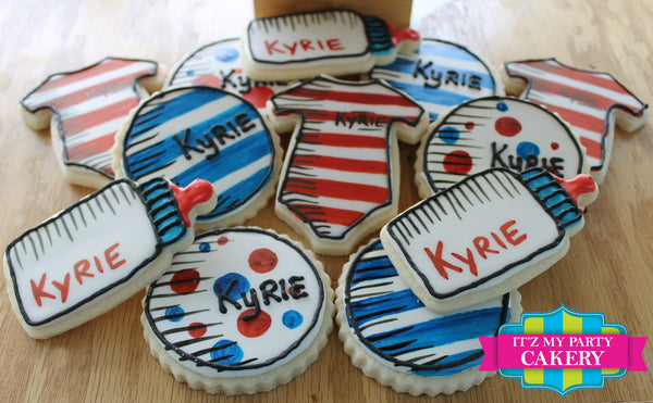 Dr. Seuss Baby Shower Cookie Set - It'z My Party Cakery - 2