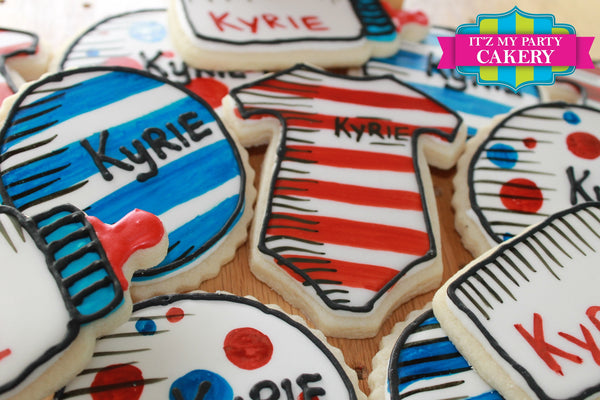Dr. Seuss Baby Shower Cookie Set - It'z My Party Cakery - 1